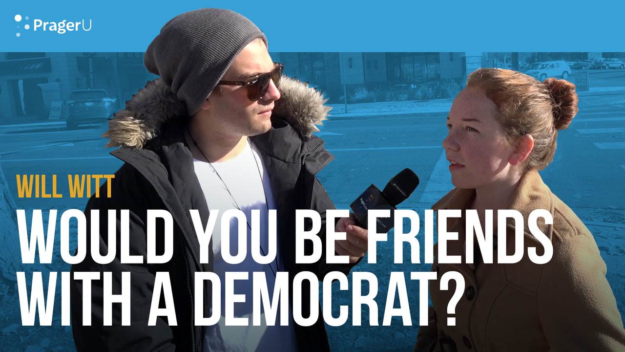 Would you be friends with a Democrat?