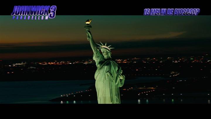 Bekijk hier de trailer van John Wick 3: Parabellum