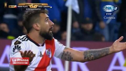 Polémica: el penal que pidió River Plate ante Boca Juniors