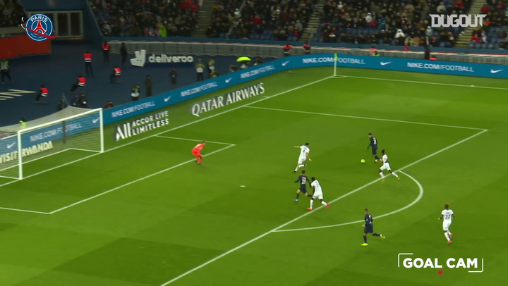 Mauro Icardi materializa una gran jugada de Kylian Mbappé