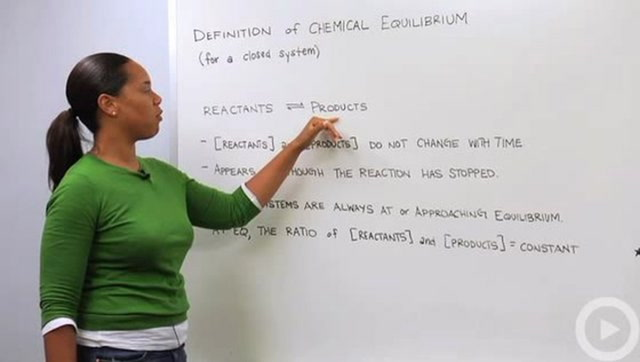 Chemical Equilibrium Definition