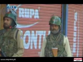 مقبوضہ کشمیر میں 126 روز سے جاری کرفیو کے بعد تازہ صورتحال