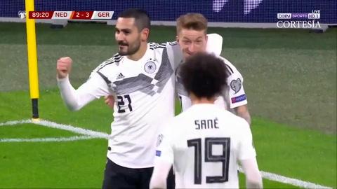 Alemania se impone ante Holanda en fase de clasificación de la Euro 2020