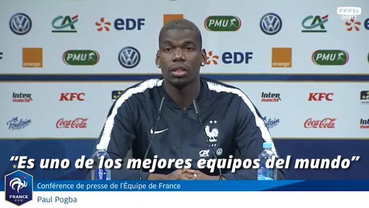 """Pogba: """"El Real Madrid es un sueño, especialmente con Zidane"""""""
