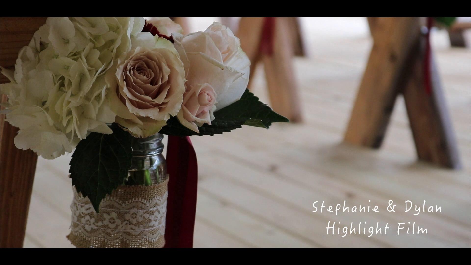 Stephanie + Dylan | Franklin, Georgia | The Barn at Big Oak