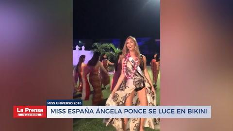 Miss España Ángela Ponce se luce en bikini en presentaciones previas al Miss Universo 2018