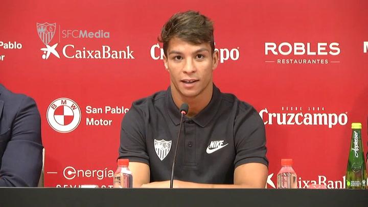 Primeras declaraciones de Óliver Torres como jugador del Sevilla
