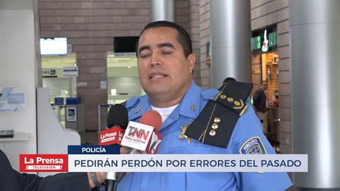 Policía pedirá perdón por errores del pasado