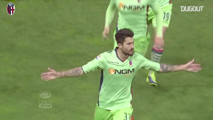 Panagiotis Kone scores with a great shot from distance in the derby against Parma