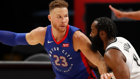What are the odds Blake Griffin helps the Nets win the NBA Finals?