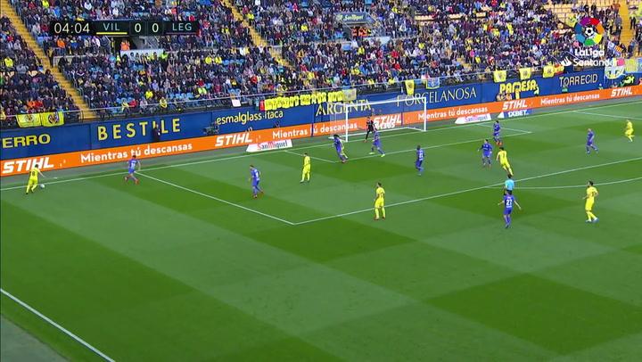 Gol de Gerard Moreno (1-0) en el Villarreal 1-2 Leganés