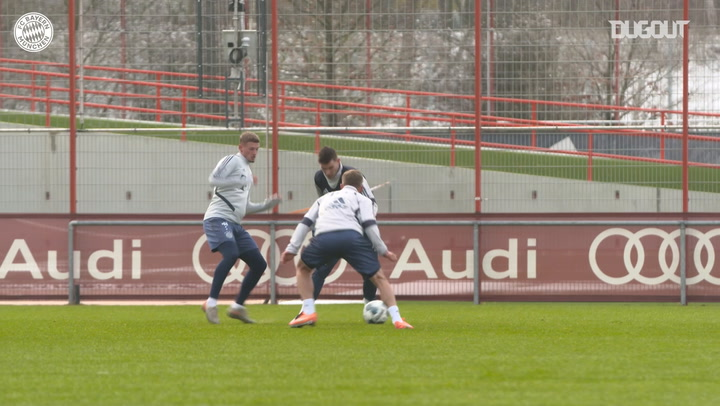 Lucas Hernández returns to FC Bayern training