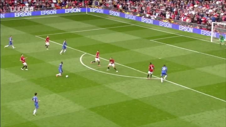 أهداف جماعية: خوان ماتا أمام مانشستر يونايتد