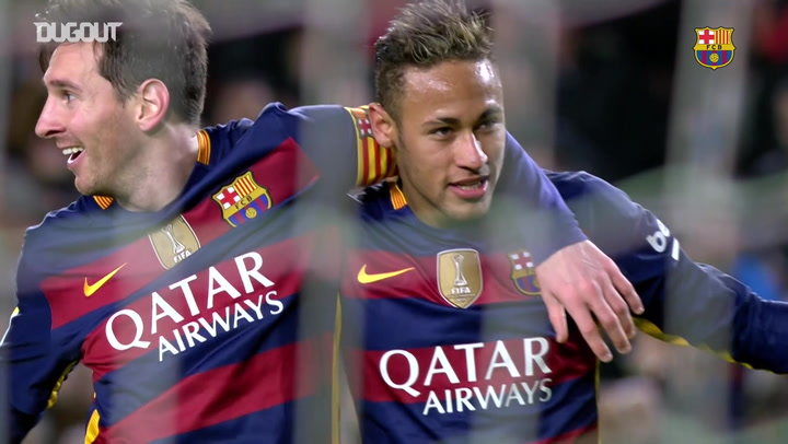 Leo Messi's best moments with Neymar Jr