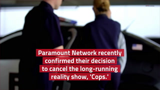Paramount pulls 'Cops' series in wake of protests – Video