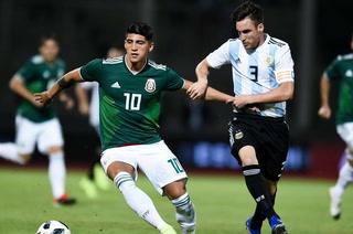 Argentina derrota a México en Córdoba con gol de Funes Mori
