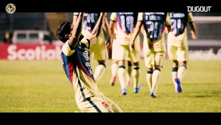 Pitchside: Sergio Díaz's first Club América goal