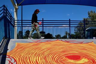 Artist, Community Paint Winchester Skate Park