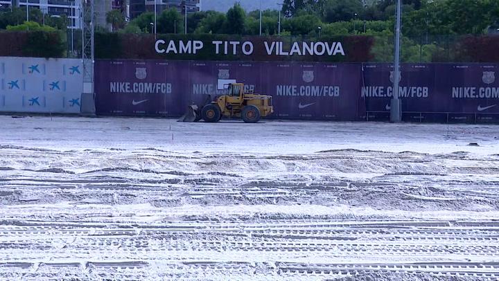 Obras para mejorar el Camp Tito Vilanova