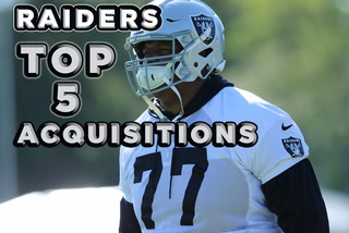 The Raiders' Top 5 Acquisitions in 2019