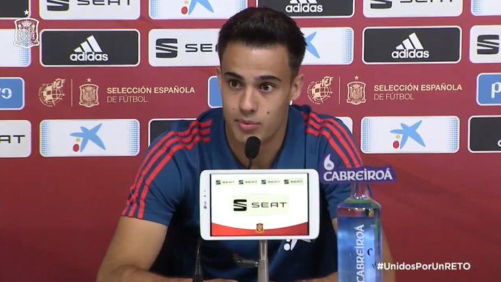 """Reguilón: """"Trabajaré para estar en la Eurocopa"""""""