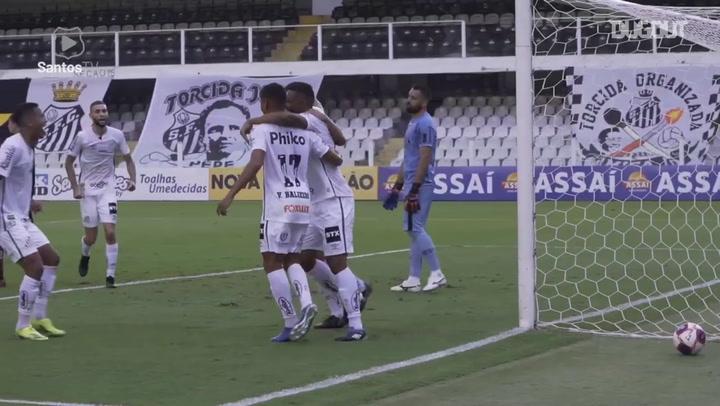 Santos' draw against Ferroviária at Vila Belmiro
