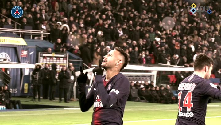 Pitchside Cam: Neymar's Best Paris Saint-Germain Moments