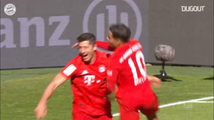 FC Bayern's 4-0 victory over FC Köln