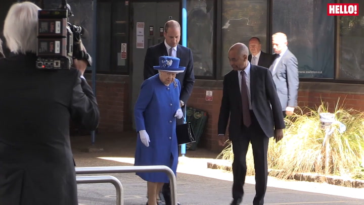 The Queen And Prince William Visit The Grenfell Tower Site