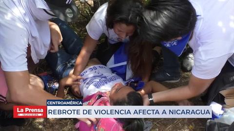 Rebrote de violencia afecta a Nicaragua