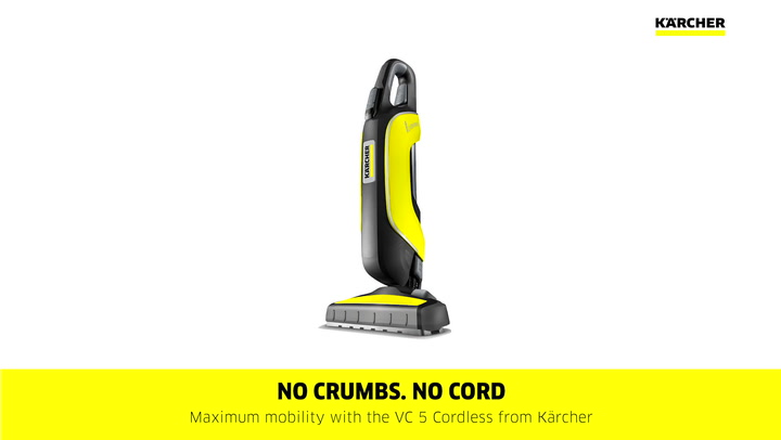 Preview image of Karcher VC5 Cordless Bagless Handheld Vacuum Clean video