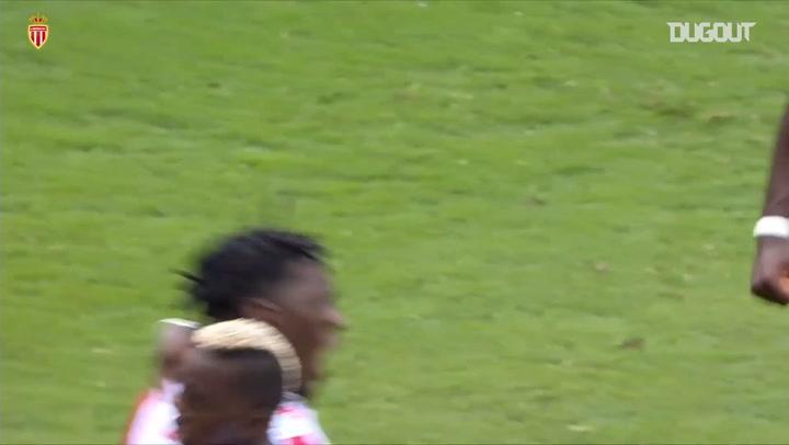 Axel Disasi's first goal for AS Monaco