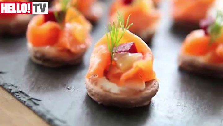 Chocolate enthusiast Fred Ponnavoy\'s Chocolate Blinis with Smoked Salmon and Poached Lemon