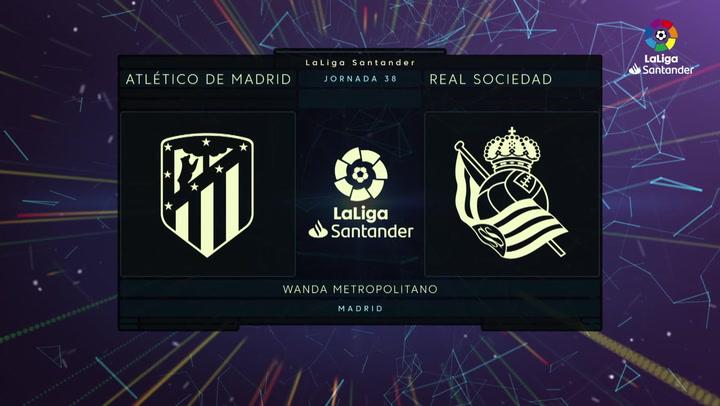 LaLiga Santander (Jornada 38): Atlético 1-1 Real Sociedad
