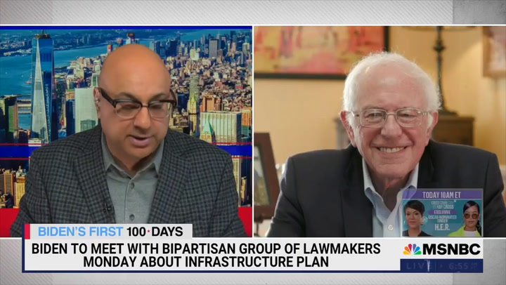 Sanders: Infrastructure Includes Housing, Guaranteed Health Care, Dealing with College Debt