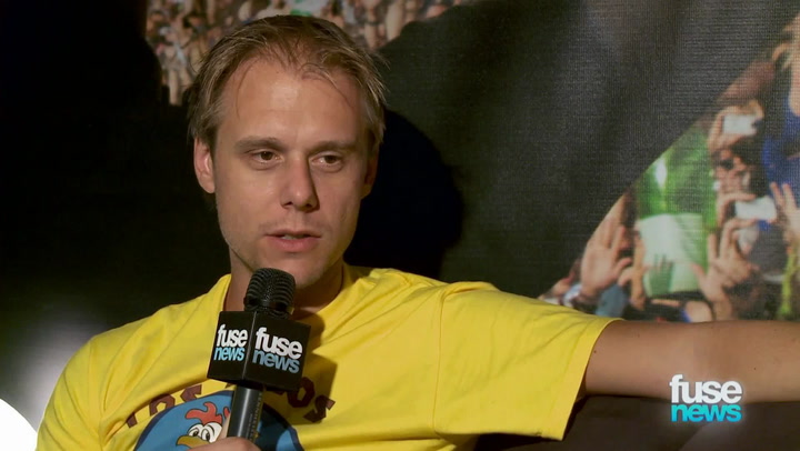 "Festivals: TomorrowWorld 2013:  EDM DJ Armin van Buuren ""With Success Comes Criticism"""