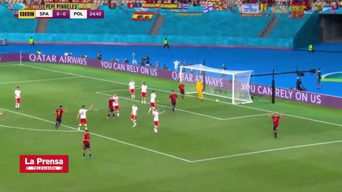 España 1 - 1 Polonia (Eurocopa)
