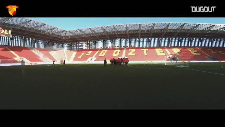 Göztepe Yeni Stadyumuna Kavuştu