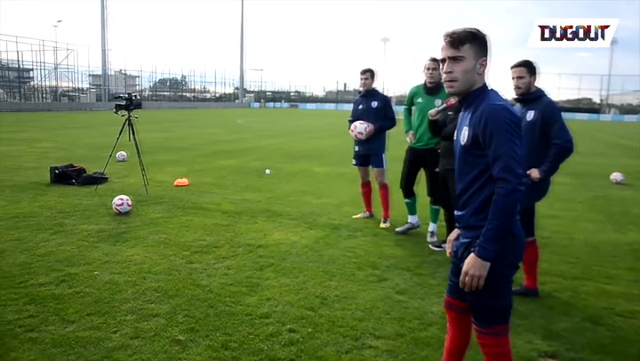 Incredible Free Kick Accuracy Drills!