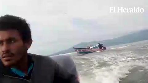 Pescadores hondureños denuncian persecución de naval nicaragüense