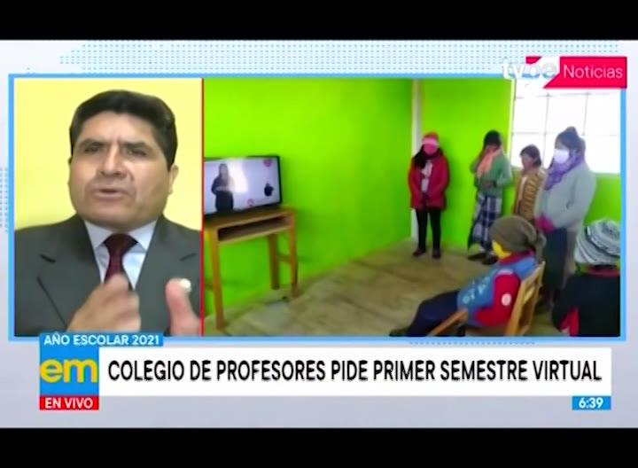 Colegio de profesores plantea que primer semestre 2021 sea virtual