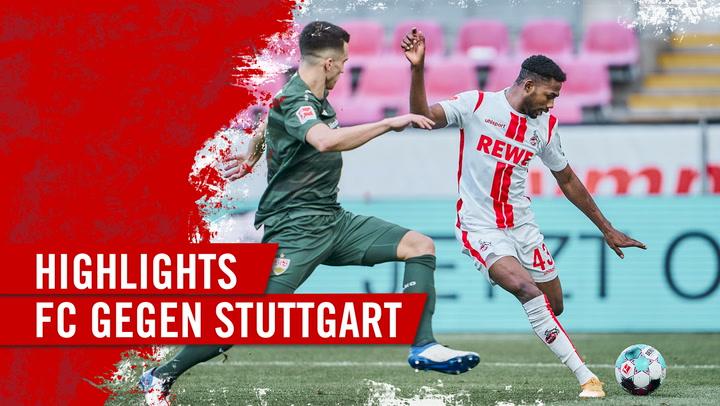 Highlights 1. FC Köln - VfB Stuttgart (2020 - 2021)