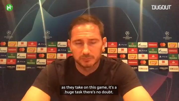 Lampard: 'I believe we can overturn deficit'