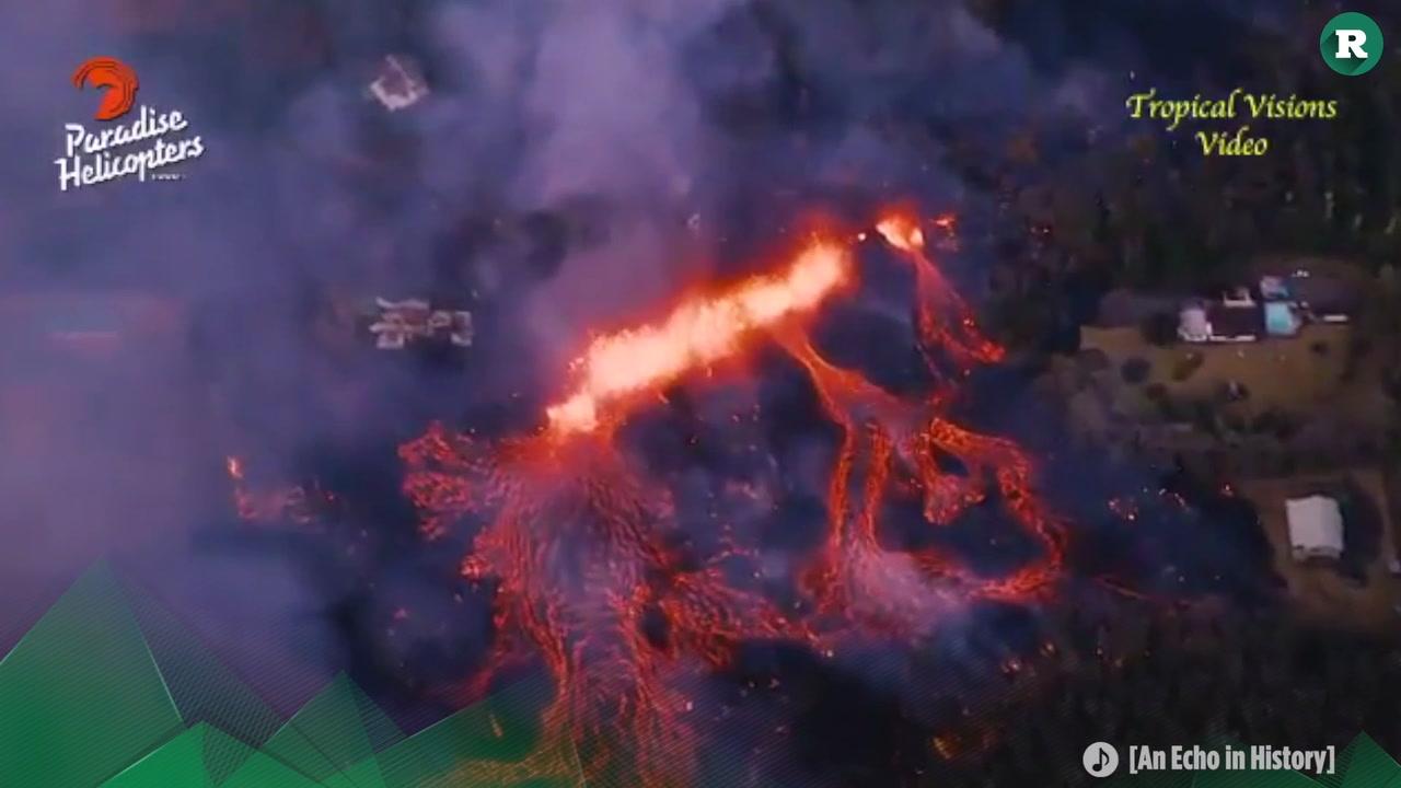 La fuerza del Kilauea