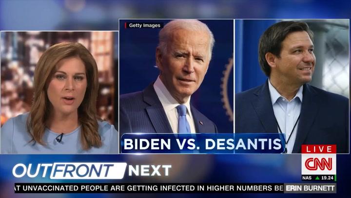 CNN's Burnett: Abbott and DeSantis 'Giving Fuel' to Anti-Vaxers by Criticizing Mandates and Lockdowns