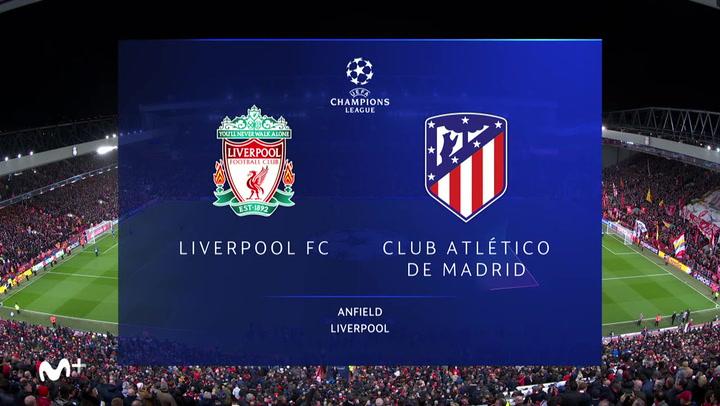 Champions League: Resumen y Goles del Liverpool - Atlético Madrid