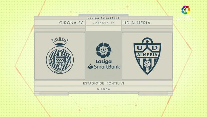 LaLiga SmartBank (J39): Resumen y gol del Girona 1-0 Almería