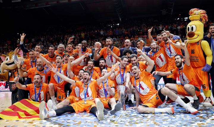 El Valencia de Basket, campéon de la EuroCup ante el Alba de Berlín