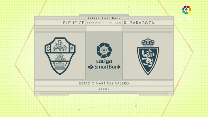 LaLiga SmartBank (Playoff de ascenso): Elche 0-0 Zaragoza