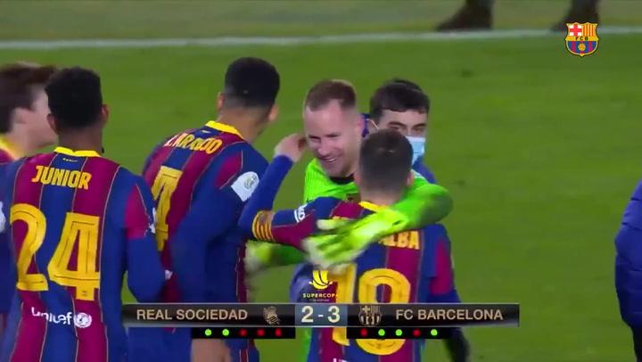 El Barça se mete en la final tras la tanda penaltis